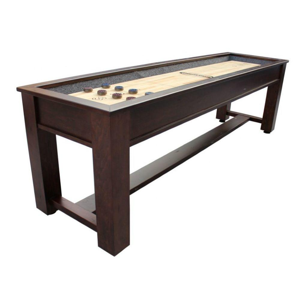 Berner Billiards The Rustic Shuffleboard Table