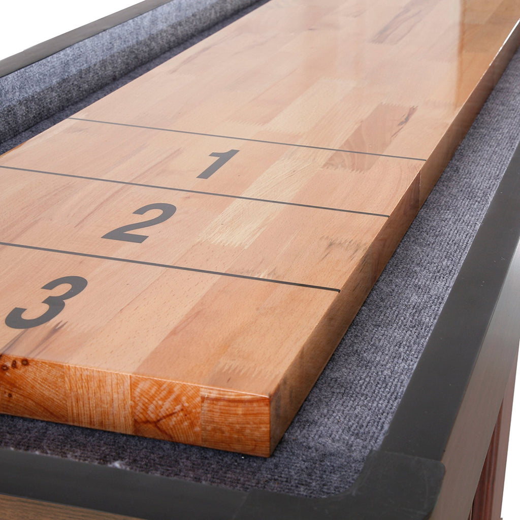 Hathaway Challenger Walnut 12ft Shuffleboard Table