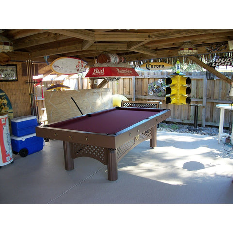 Gameroom Concepts Tuscany 8ft Outdoor Pool Table