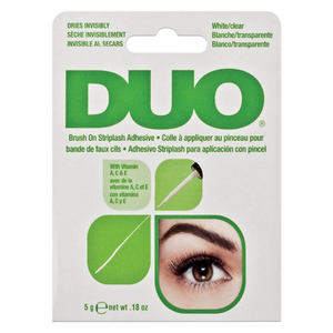 DUO - False Eyelash Glue: Latex Free (White/Clear)