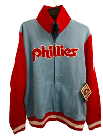 Philadelphia Phillies full zip cotton jacket