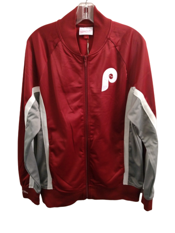 Philadelphia Phillies full zip nylon jacket