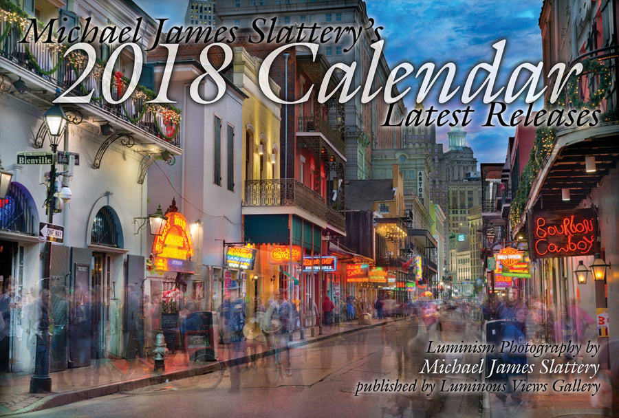 2018 Luminous Views Calendar