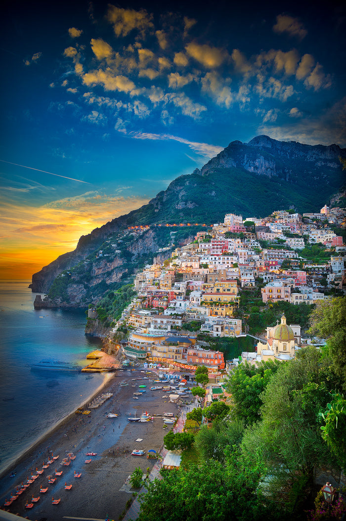 positano looking west