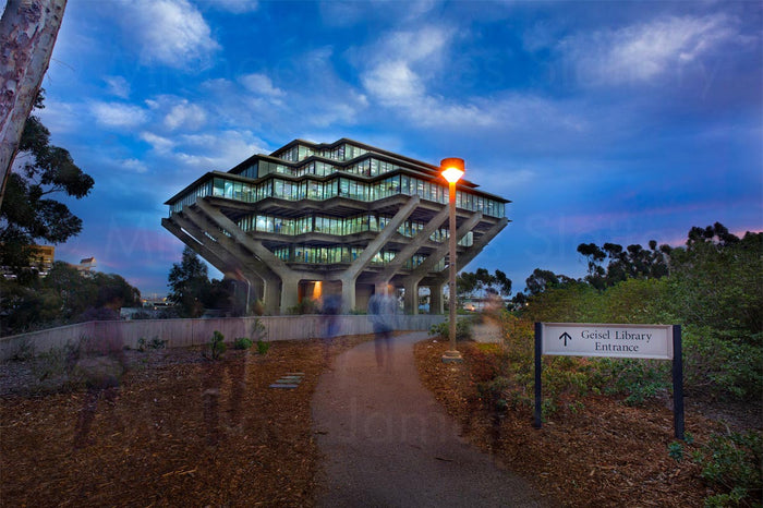 geisel library at ucsd