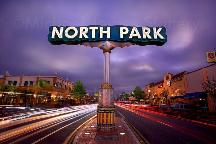 north park sign