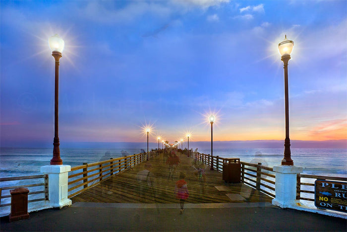 on oceanside pier