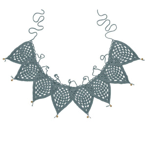 Crocheted Bunting | Ice Blue