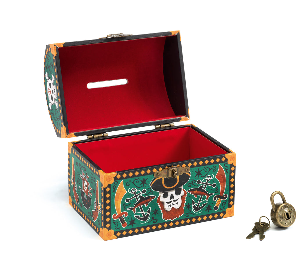 Djeco Money Box | Pirates