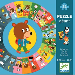 Giant Puzzle | The DAY 24pc Circle Puzzle