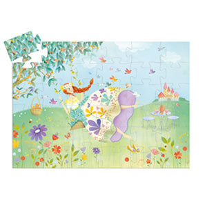 Silhouette Puzzle | The Princess of Spring (36pc)