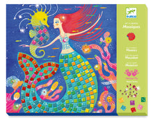 Load image into Gallery viewer, Djeco | Collage Mosaic Kit | The Mermaid