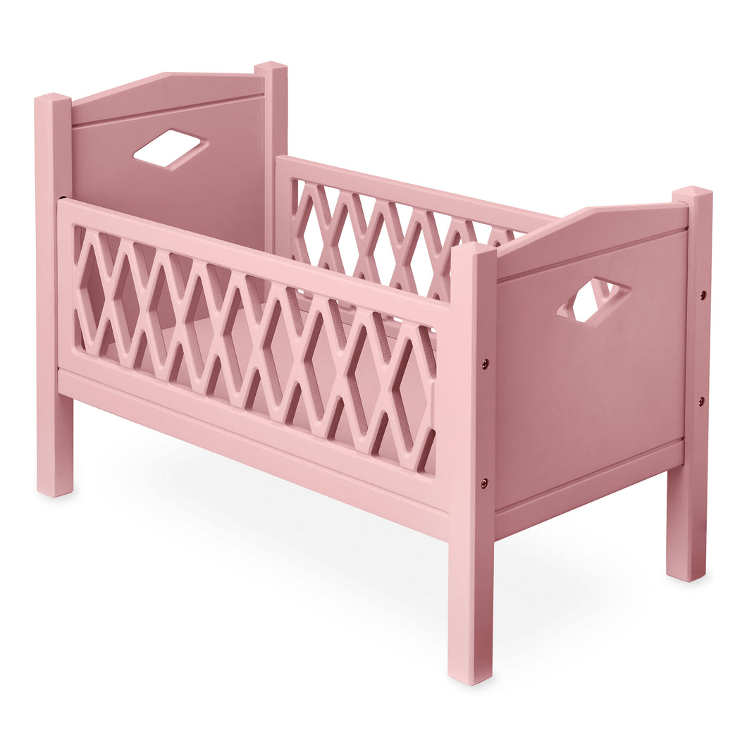 Cam Cam | Harlequin Doll Cot | Berry