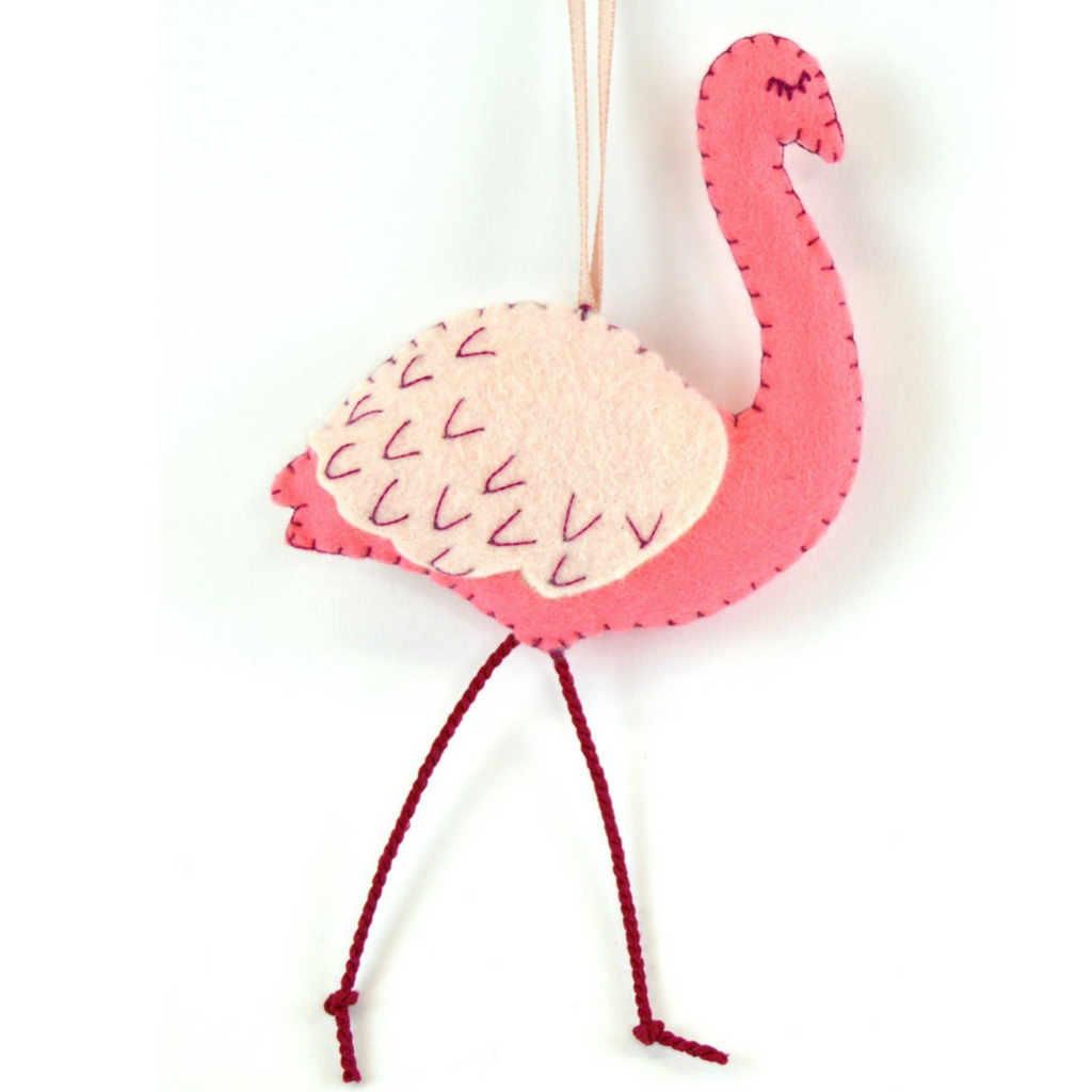Corriene Lappier | Mini Kit Felt Craft| Flamingos