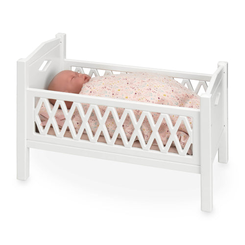 CamCam Harlequin Doll Cot White