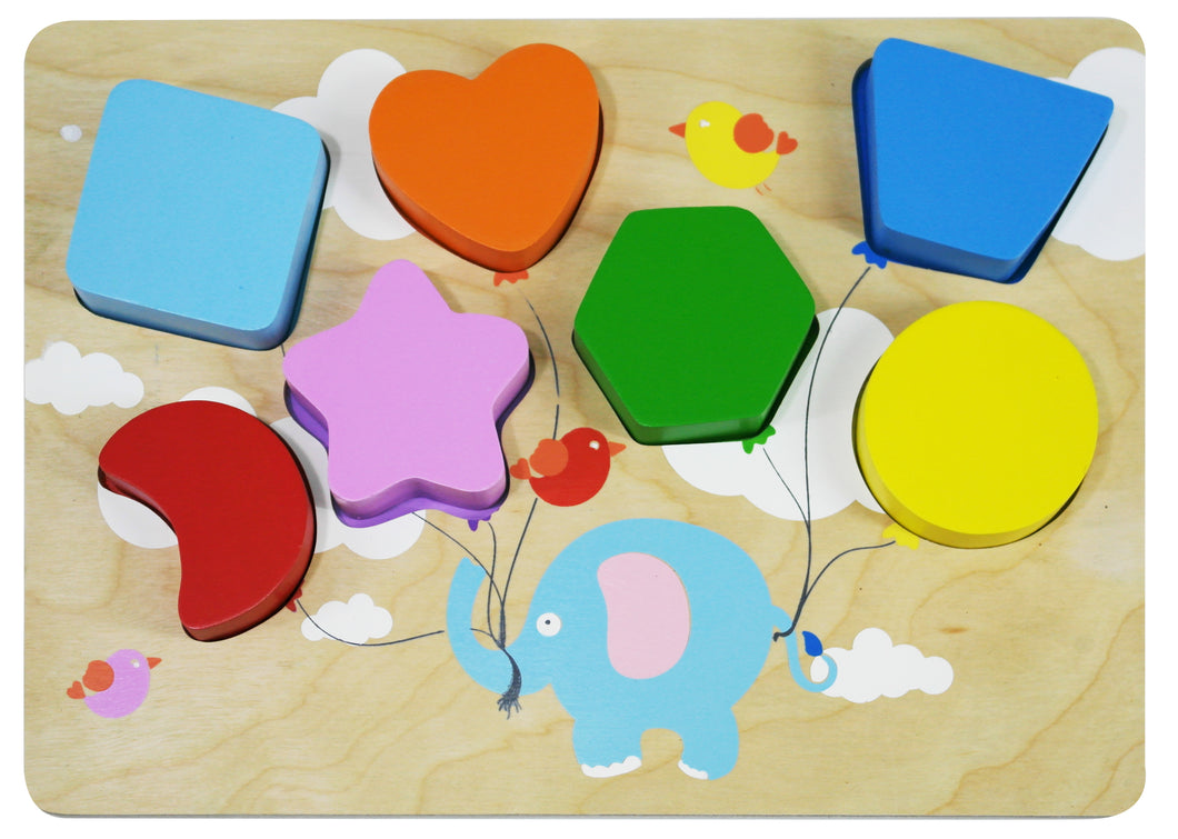 Shapes Wood Puzzle