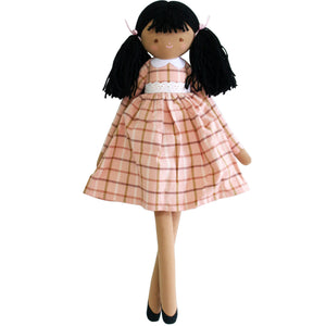 Alimrose Dolls | Pippa | Pink Plaid