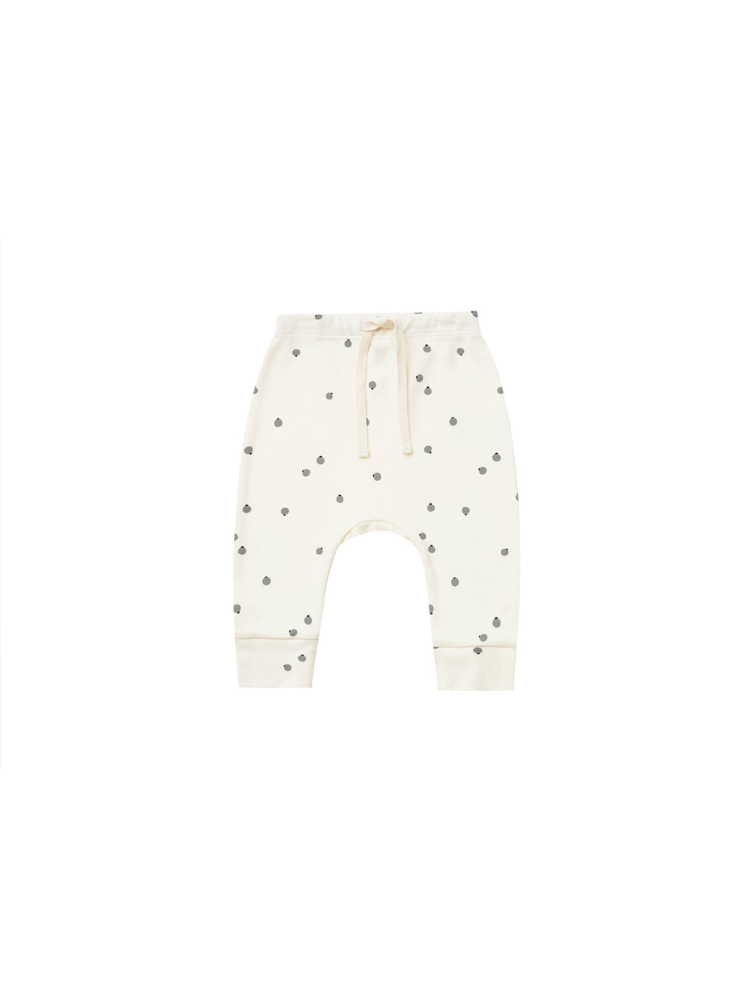 Drawstring Pant | Blueberry & Ivory