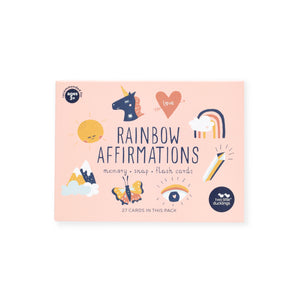 Snap and Memory Game | Rainbow Affirmations