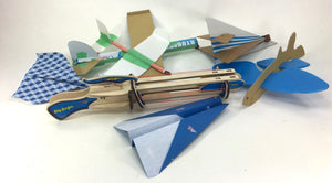 Sky Surfer Paper Airplane Launcher