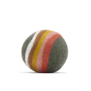 Muskhane | Felt Ball | Rainbow | Mineral Grey