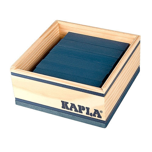Kapla Dark Blue Planks