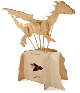 Make Your Own Flying Dragon Automata
