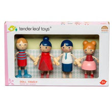 Load image into Gallery viewer, Wooden Flexible Doll Family