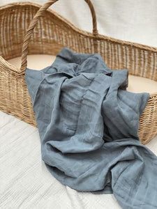 Pop Ya Tots | The Essential Swaddle | French Blue