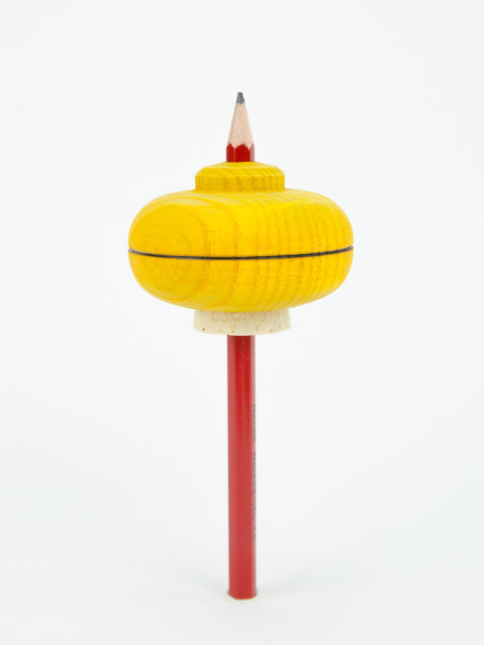 Mader | Spinning Tops | Draw | Yellow