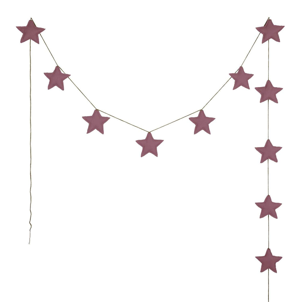 Mini Star Garland | Baobab Rose