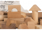 Load image into Gallery viewer, Wooden Story | Blocks 100 pcs in sack | Natural