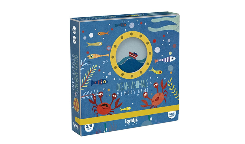 Memory Game | Ocean Animals