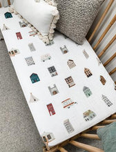 Load image into Gallery viewer, Pop Ya Tots | Muslin Cot Sheet | This Ole House