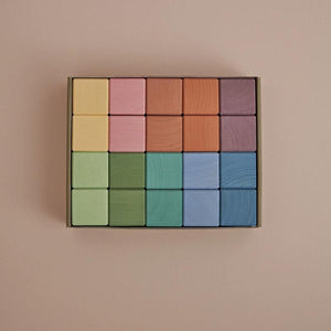 Raduga Grez | Blocks | Earth Pastel Cubes