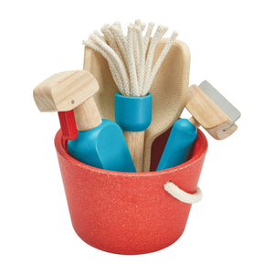 Plan Toys | Wooden Cleaning Set