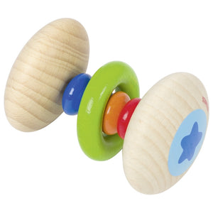 Heimess Rattle Rainbow with Ring