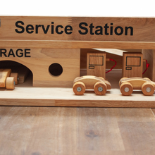 Load image into Gallery viewer, Solid Wooden Service Station