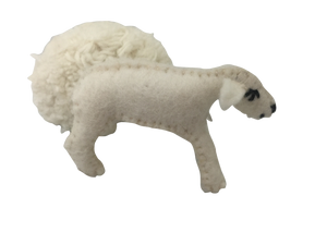 Papoose Animals | Sheep with Removal Fleece