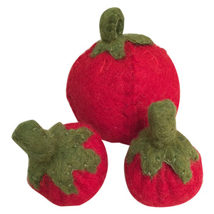 Papoose Play Food | Set of 3 Tomatoes