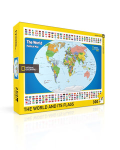 NY Puzzle Co | World Kids Map 300pc