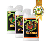 PH PERFECT MICRO, GROW, BLOOM / Kit  nutrición Base Completo, autorregula pH del agua
