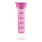 Glass Hydration Bottle with Infuser 16 Oz., MAGENTA