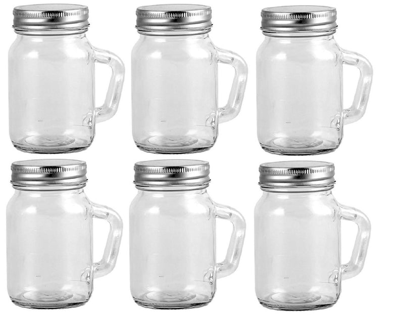 Orii 3.5 oz Mason Utility Storage and Spice Jar - Set of 6