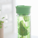 Orii 16 Ounce Glass Hydration Bottle with Infuser Insert