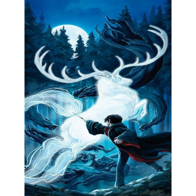 Diamond Painting Harry Potter met Patronus