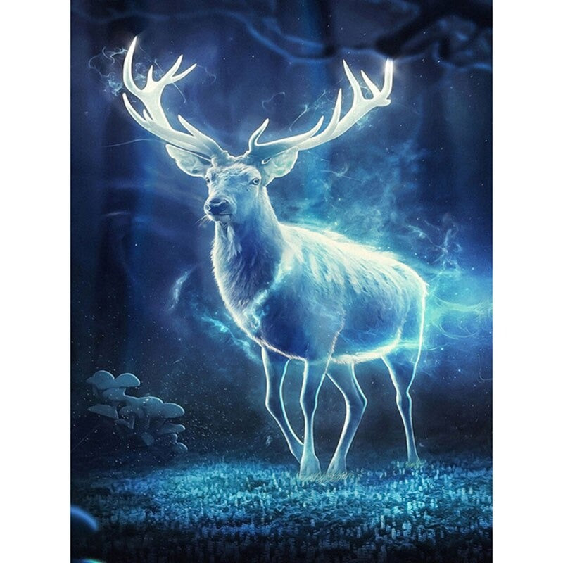Diamond Painting Patronus van Harry Potter
