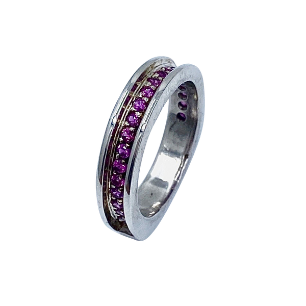 Rubíes SS Eternity Band