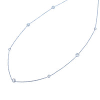 Diamonds By the Yard White Gold Necklace