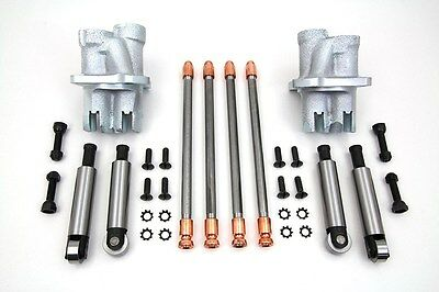USATappet Block Kit with Lifters and Pushrod Kit FIts EL 1936-1940, FL 1941-1947